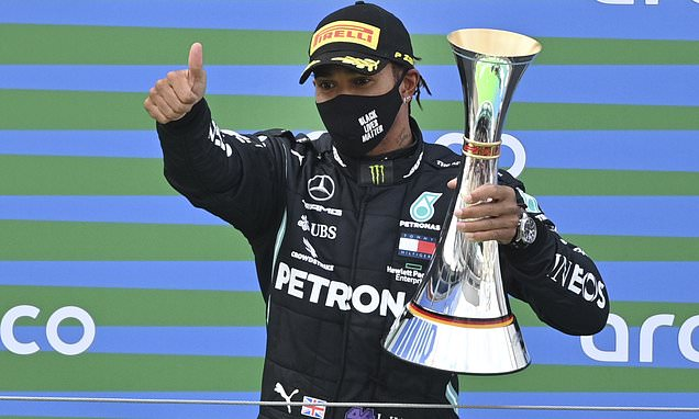 Hamilton's top five Formula One wins after record-equalling triumph