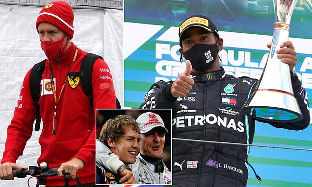 Michael Schumacher is BETTER than Lewis Hamilton, says Vettel