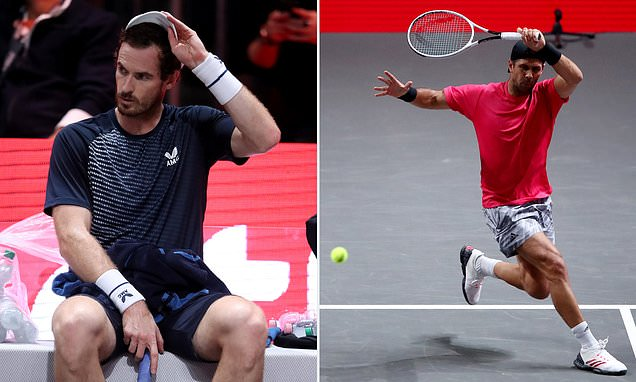 Andy Murray beaten by Fernando Verdasco in Cologne ATP event