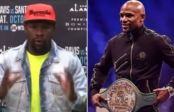 Mayweather goes on incredible rant about the worrying state of boxing