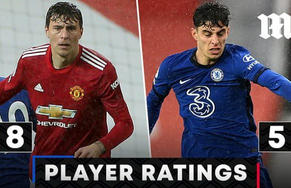 Man United 0-0 Chelsea PLAYER RATINGS: Victor Lindelof stars