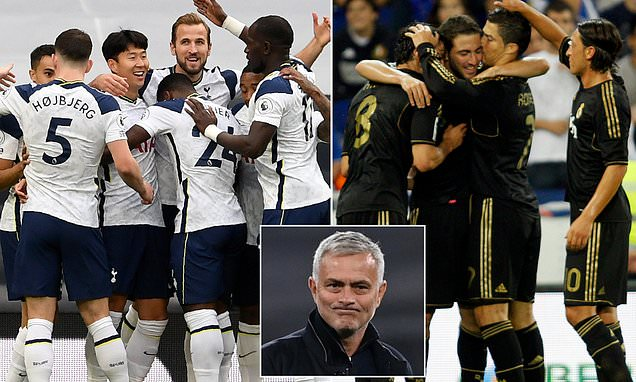 Mourinho REJECTS comparisons between Spurs and his Real Madrid team