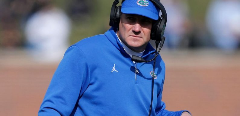 Gators coach Mullen tests positive for COVID-19