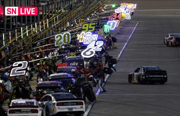 NASCAR at Kanas live race updates, results, highlights from the Hollywood Casino 400