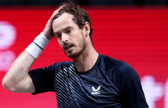 Andy Murray withdraws from Cologne event with lingering pelvic problem