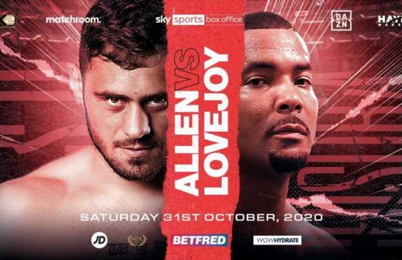 Usyk vs Chisora: Dave Allen to fight Christopher Lovejoy on undercard at Wembley
