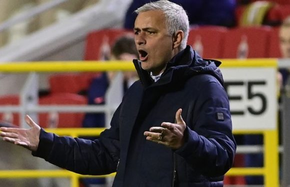 Jose Mourinho rips into Spurs flops after Antwerp defeat: 'My future choices will be easy'