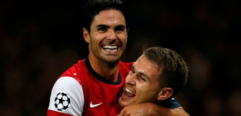 "Mikel Arteta ""really impressed"" by Arsenal's 'new Aaron Ramsey'"