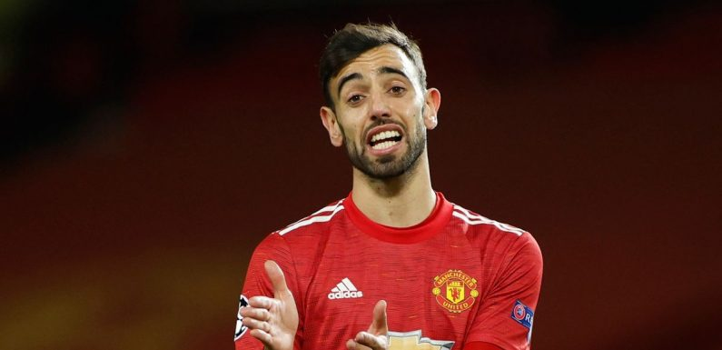 Bruno Fernandes hints Man Utd have gem who should be playing first-team football