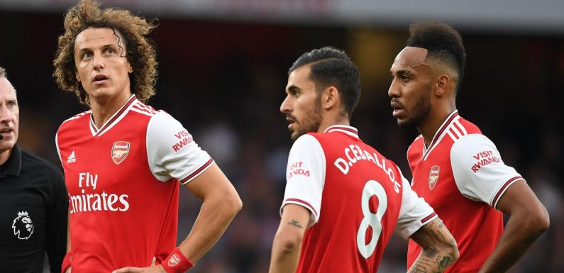 Rob Holding opens up on mood in Arsenal camp after Luiz and Ceballos bust-up