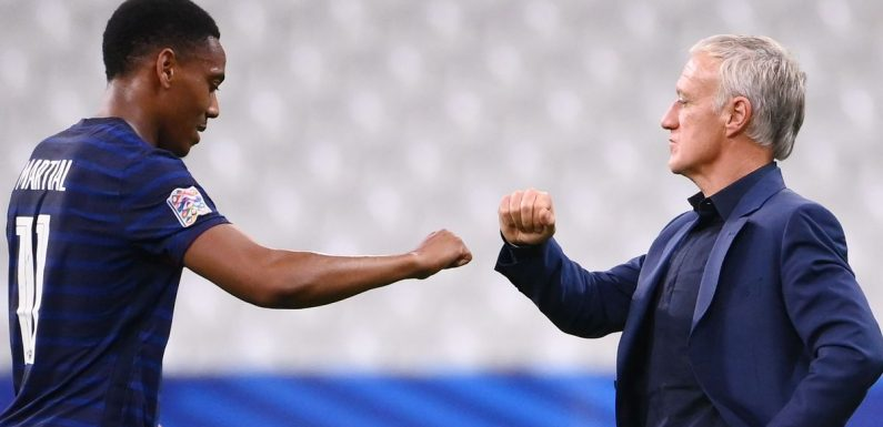 Traits Anthony Martial's improved at Man Utd as Deschamps talks 'small margins'