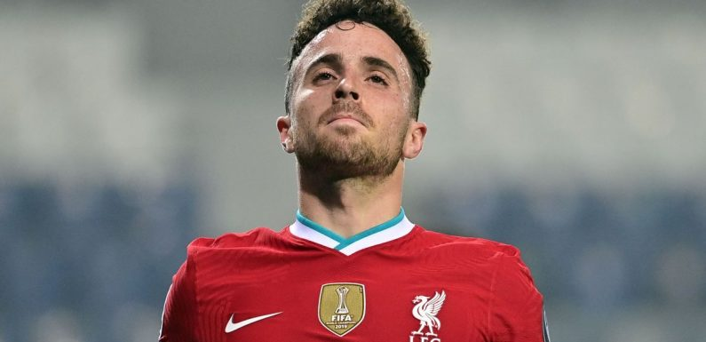 Liverpool told to drop Diogo Jota by John Barnes game despite midweek hat-trick