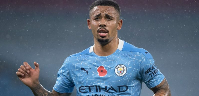 Gabriel Jesus only at Man City after former boss Roberto Mancini made err