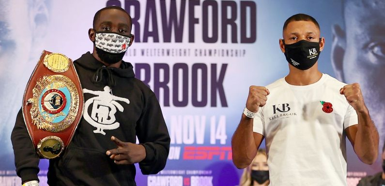Kell Brook vs Terence Crawford UK TV channel: How to watch Las Vegas title fight