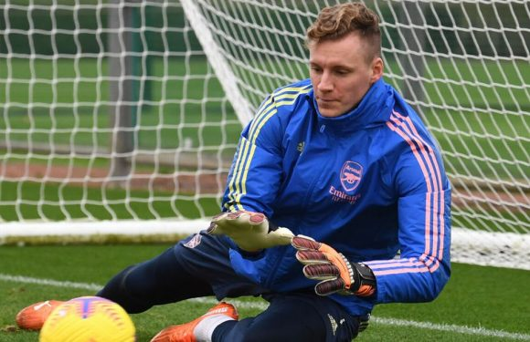 Arsenal goalkeeper Bernd Leno forced to wear outfield kit against Wolves