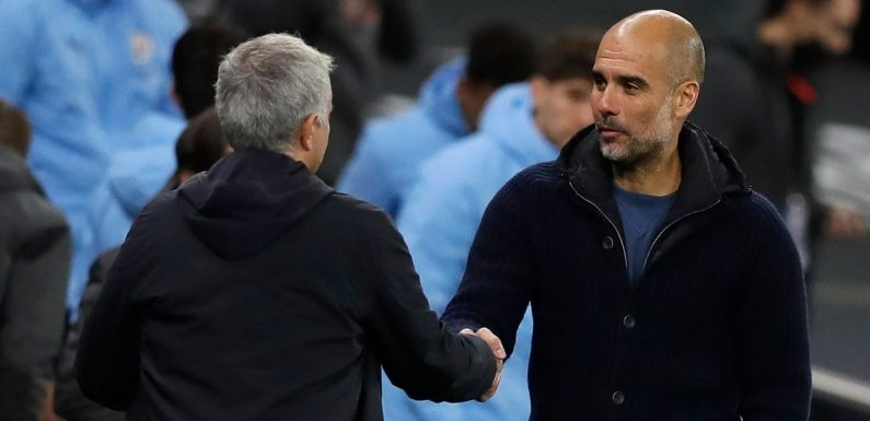 Guardiola and Mourinho are on different paths – Man City's title hopes are over