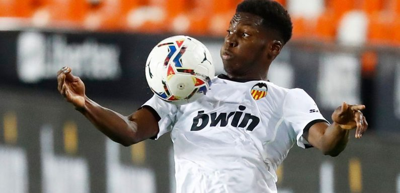 England eye Valencia wonderkid in USA battle but Southgate won't fast-track teen