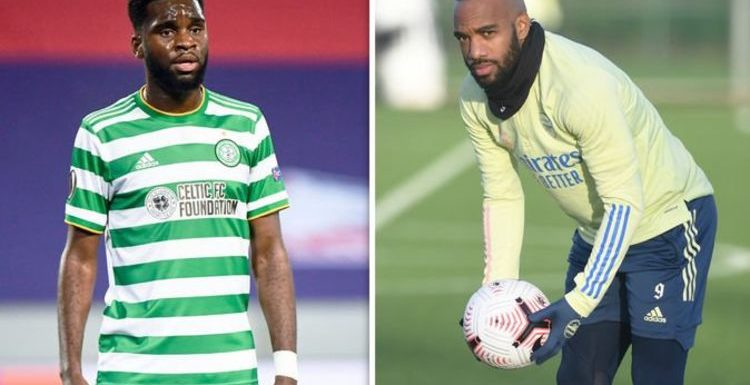 Arsenal tipped to sign 'natural goalscorer' Odsonne Edouard to replace Alexandre Lacazette