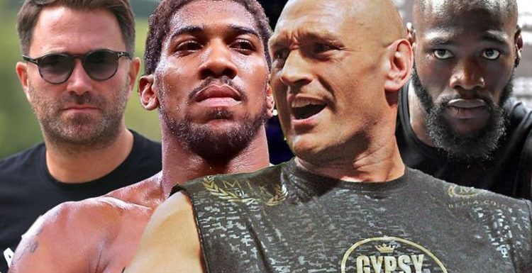 Anthony Joshua vs Tyson Fury: Deontay Wilder 'mess' tipped to delay super-fight