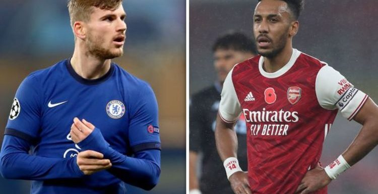 Arsenal boss Arteta must learn from Chelsea star Werner to get best out of Aubameyang