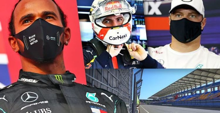 Turkish Grand Prix qualifying results LIVE: Lewis Hamilton seeks pole with title in sight