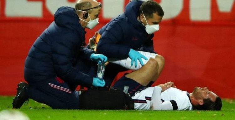 Ben Chillwell injury: Chelsea star limps off in England Nations League clash with Belgium