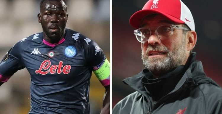 Liverpool learn Kalidou Koulibaly transfer price with Napoli stance clear