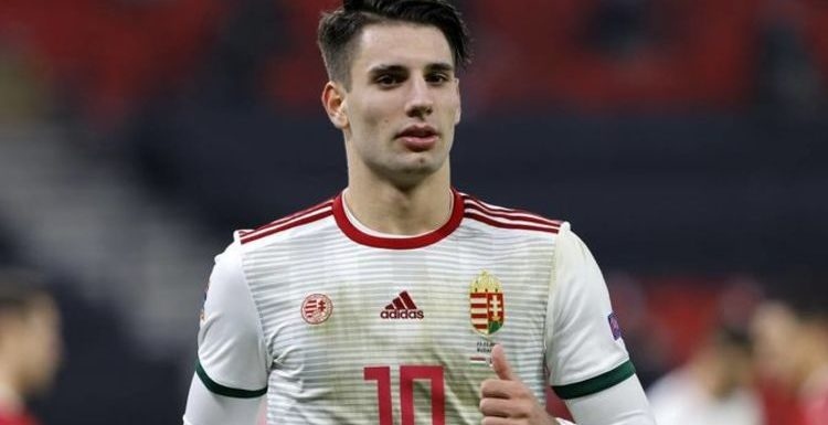Arsenal target Dominik Szoboszlai 'likely to leave' in January admits RB Salzburg boss