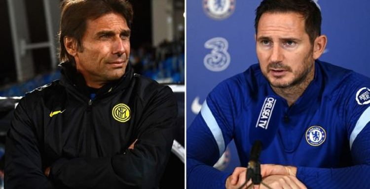 Antonio Conte gives verdict on Frank Lampard as he teases potential future Chelsea return