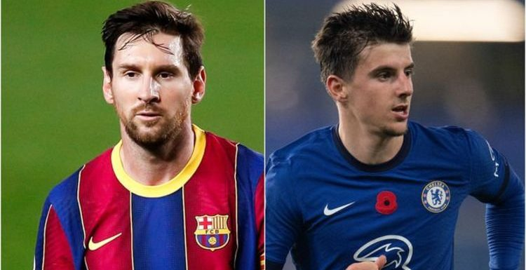 Lionel Messi agrees with David Luiz about Chelsea's Mason Mount amid Jack Grealish debate