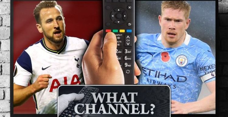 How to watch Tottenham vs Man City: TV channel, live stream and team news