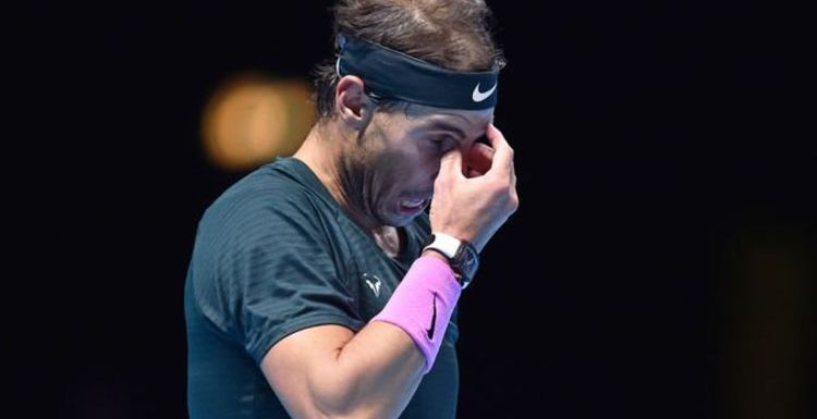 Rafael Nadal rues big missed opportunity after ATP Finals loss but makes 2021 promise