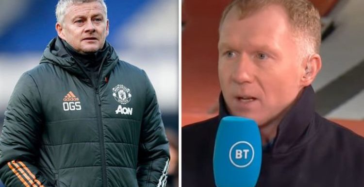 Paul Scholes pinpoints main Man Utd problem which can be easily solved