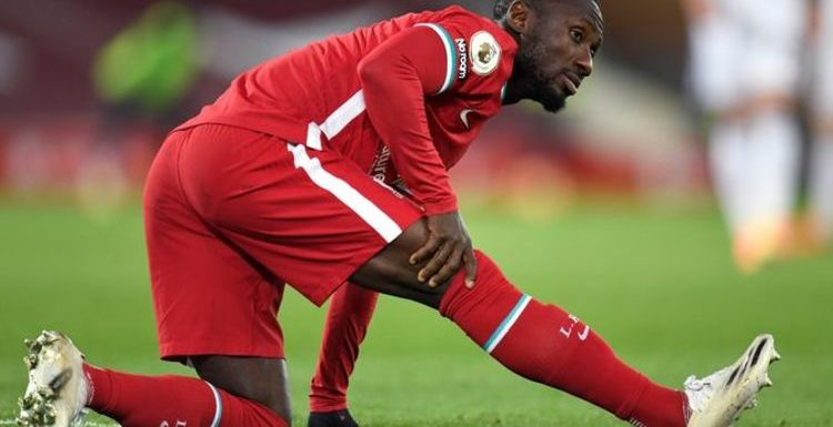 Liverpool suffer yet another injury blow as Naby Keita limps off against Leicester