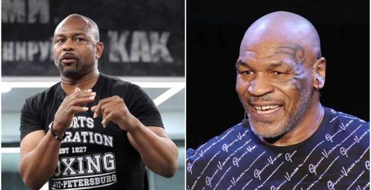 Mike Tyson lays down warning to Roy Jones Jr as he knocks out sparring partner's teeth