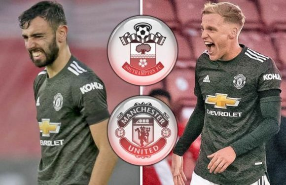 Man Utd star Bruno Fernandes shuts down Donny van de Beek myth after Southampton win