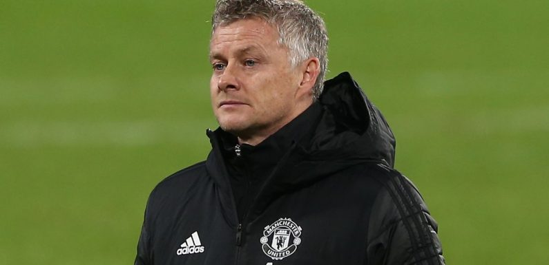 Ole Gunnar Solskjaer could be sacked by Man Utd if he fails to beat Everton