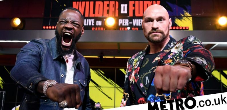Tyson Fury in U-turn over Deontay Wilder rematch ahead of spring fight in USA