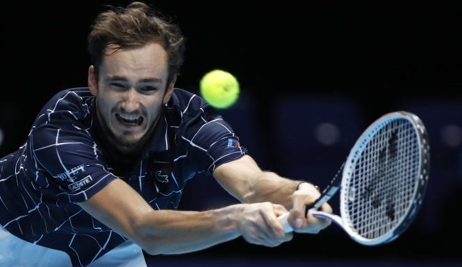 Medvedev claims ATP Finals title after fighting back to beat Thiem