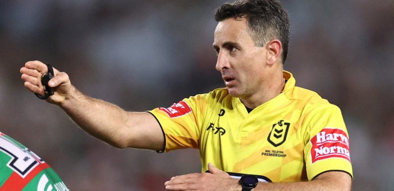 Will the NRL return to a two-referee model?