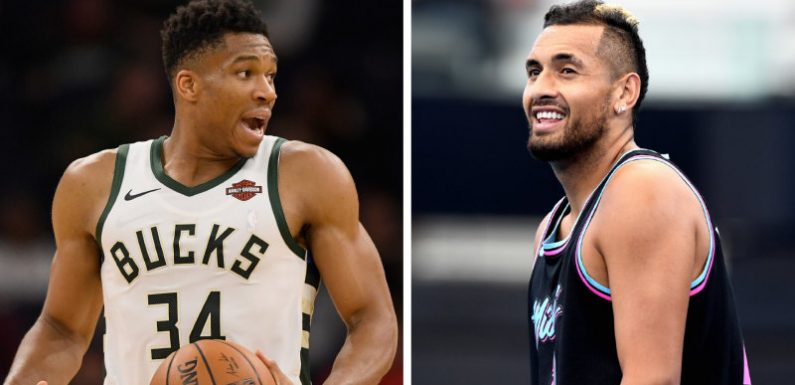 FaceTime with Giannis: Nick Kyrgios' scoop on NBA's biggest question