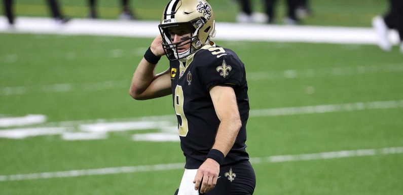 Saints QB Drew Brees has multiple fractured ribs, collapsed lung, per report
