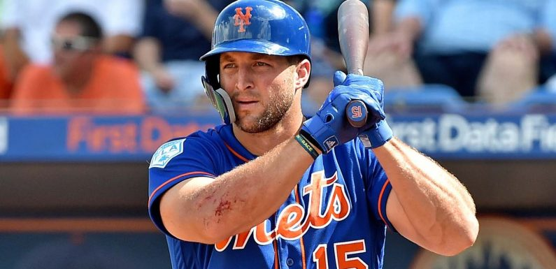 Mets president Sandy Alderson says Tim Tebow is expected to be back in 2021