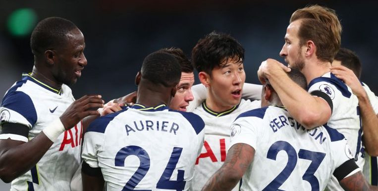 Football: Spurs sink Manchester City to take top spot, Chelsea up to second