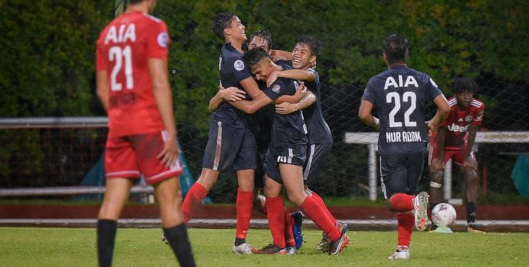 Football: Late winner lifts Young Lions off bottom of Singapore Premier League table