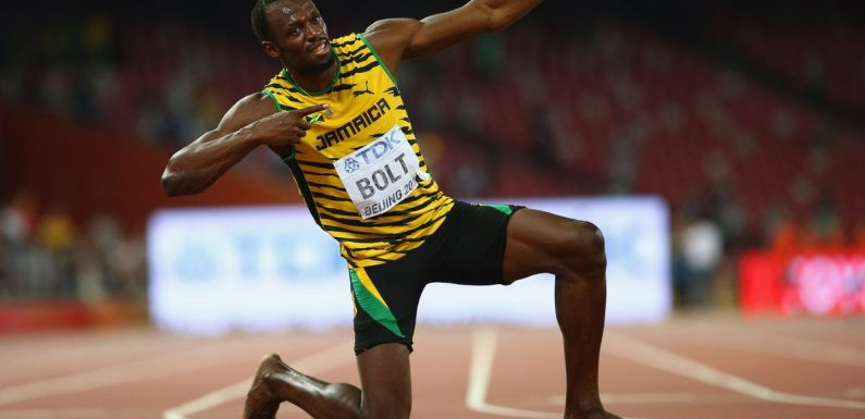 """Bolt claims Ronaldo is 'faster than me' as he praises """"super athlete"""""""