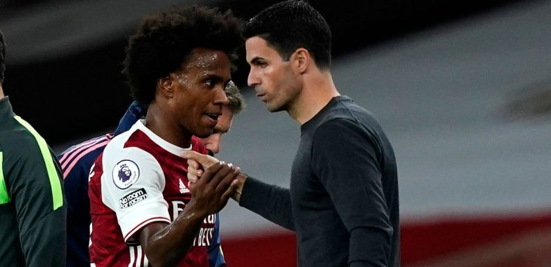 """Mikel Arteta discusses Partey's """"significant"""" injury and Willian reprimand"""