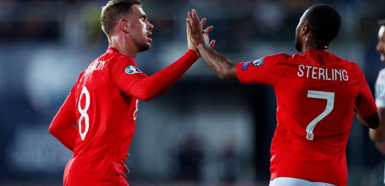 Henderson and Sterling withdraw from England squad amid injury concerns