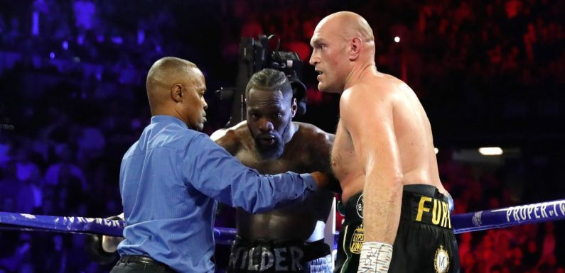 Deontay Wilder takes legal action over cancelled Tyson Fury trilogy