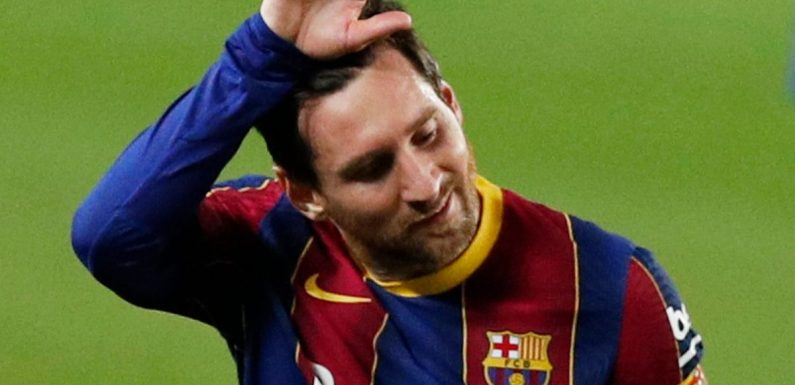 Rivaldo tells Barcelona what they must do to keep Messi amid Man City lure